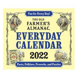 Houghton Mifflin Harcourt The Old Farmer's Almanac 2022 Everyday Calendar