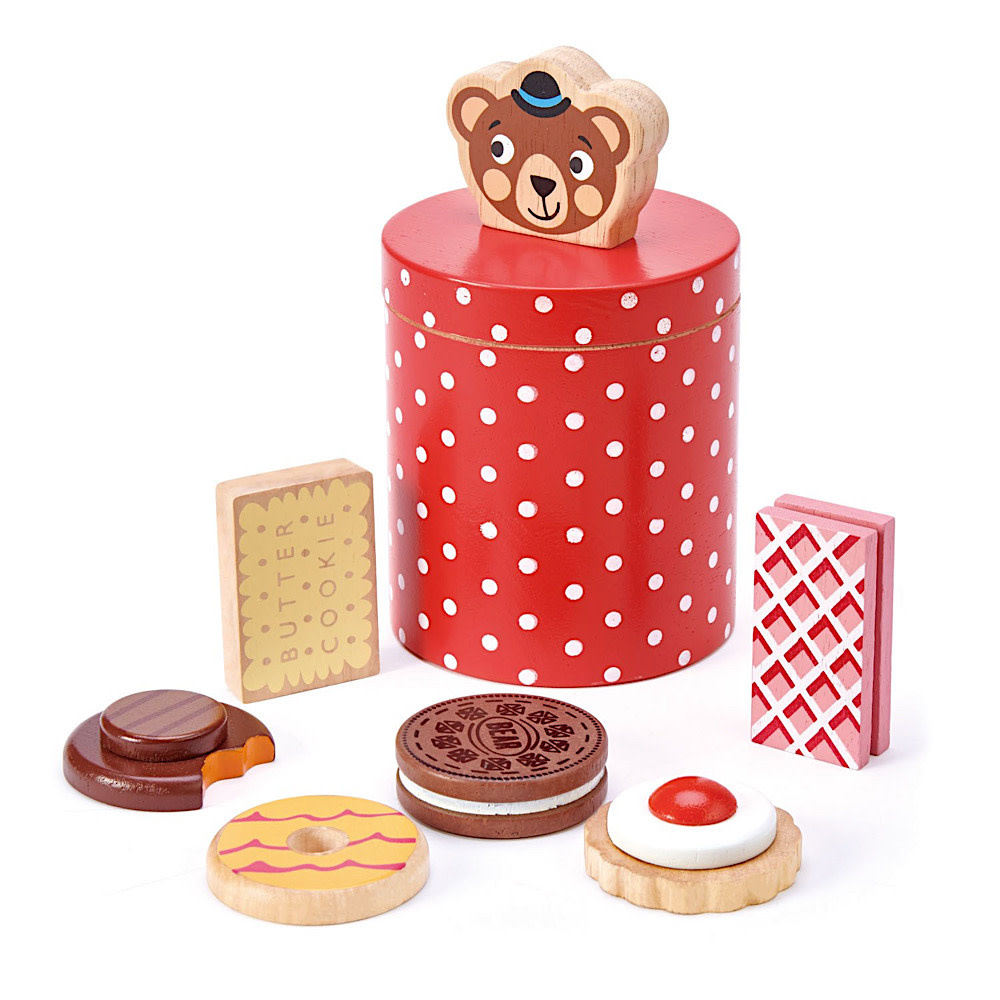 Tenderleaf Bear's Biscuit Barrel
