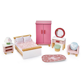 Tenderleaf Dolls House Bedroom Furniture