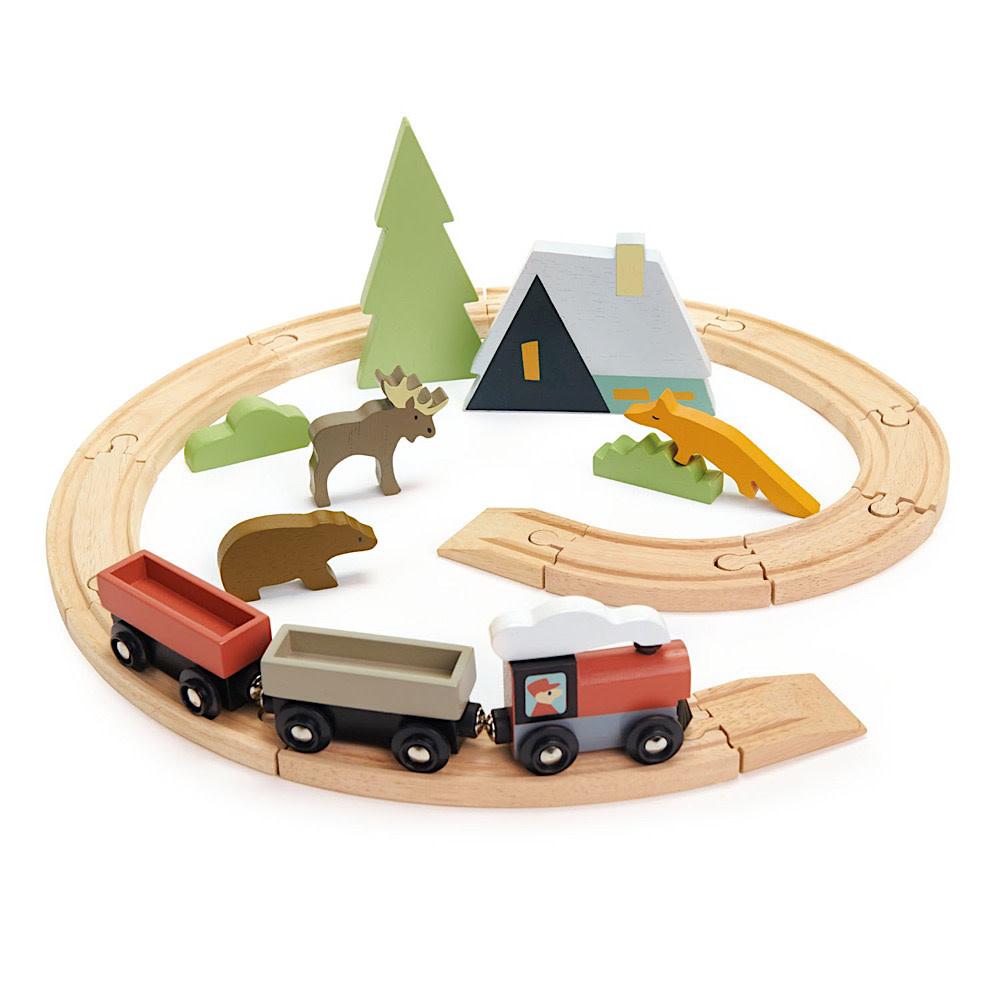Tenderleaf Treetops Train Set