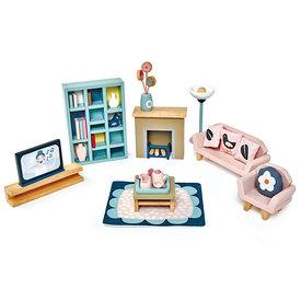 Tenderleaf Dolls House Sitting Room Furniture