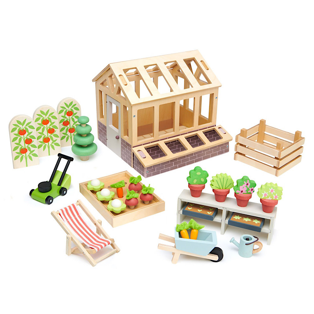Greenhouse and Garden Set