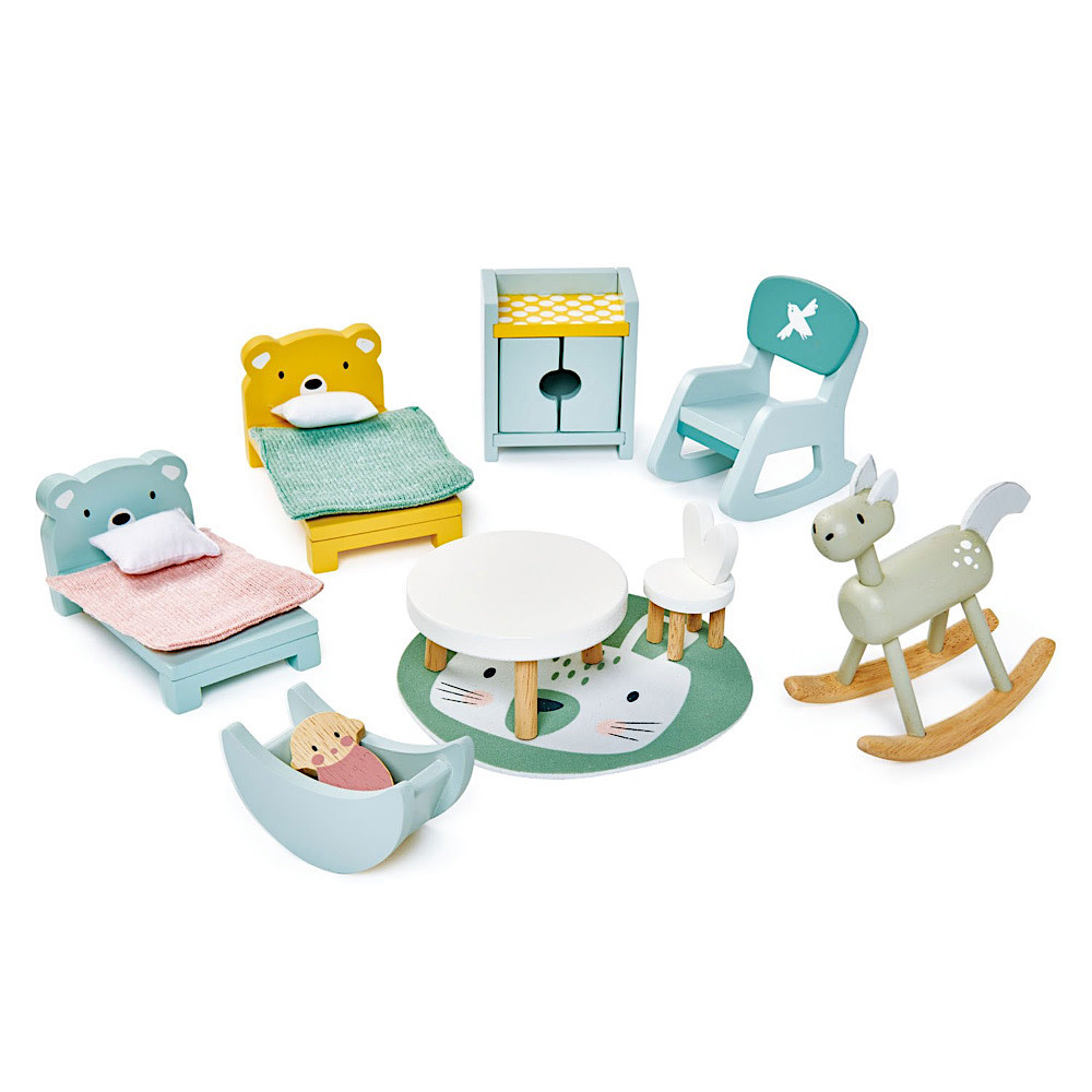 Dolls House Childrens Room Furniture