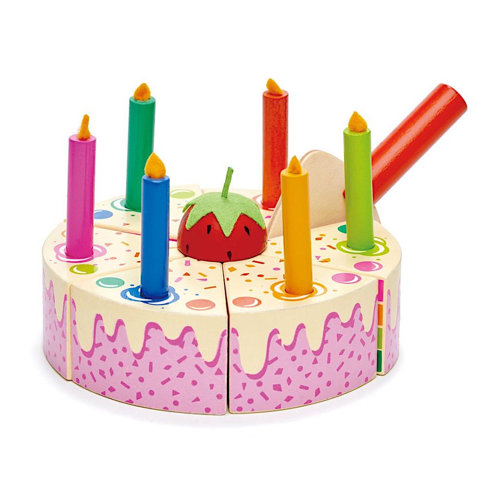 Tenderleaf Rainbow Birthday Cake