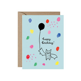 Paperapple Paperapple Card - Birthday Bat