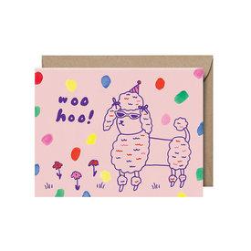 Paperapple Paperapple Card - Woo Hoo Poodle