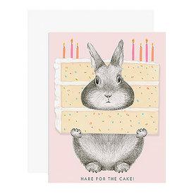 Dear Hancock Dear Hancock Card - Hare for the Cake