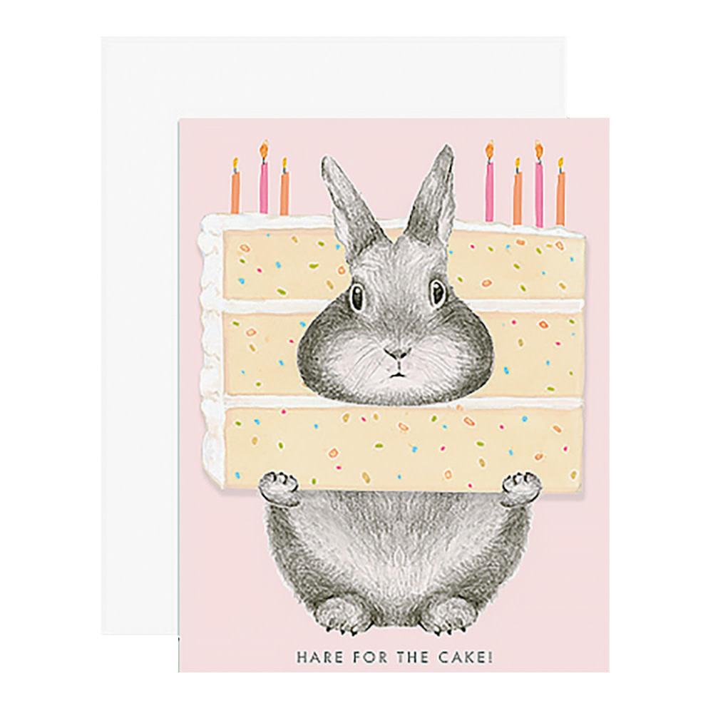 Dear Hancock Card - Hare for the Cake