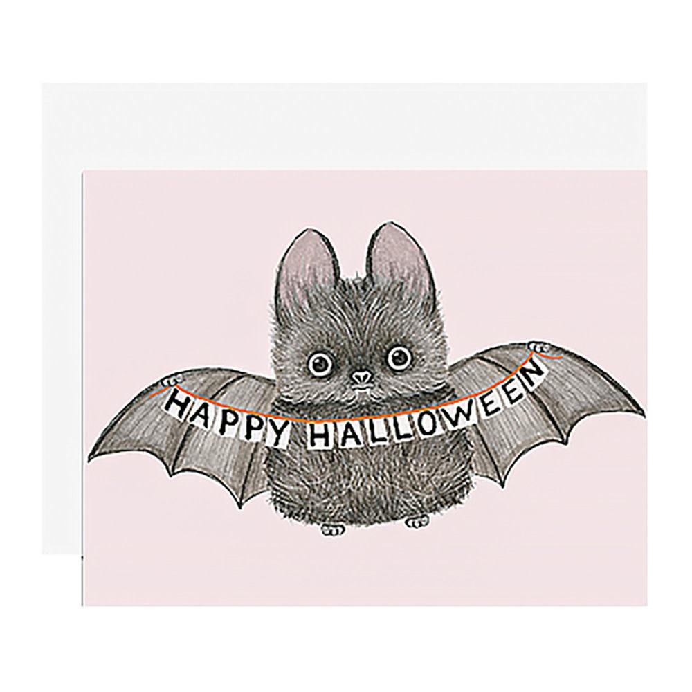 Dear Hancock Card - Halloween Bat