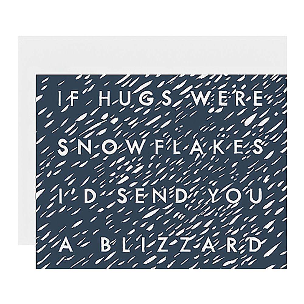 Dear Hancock Card - Blizzard of Hugs