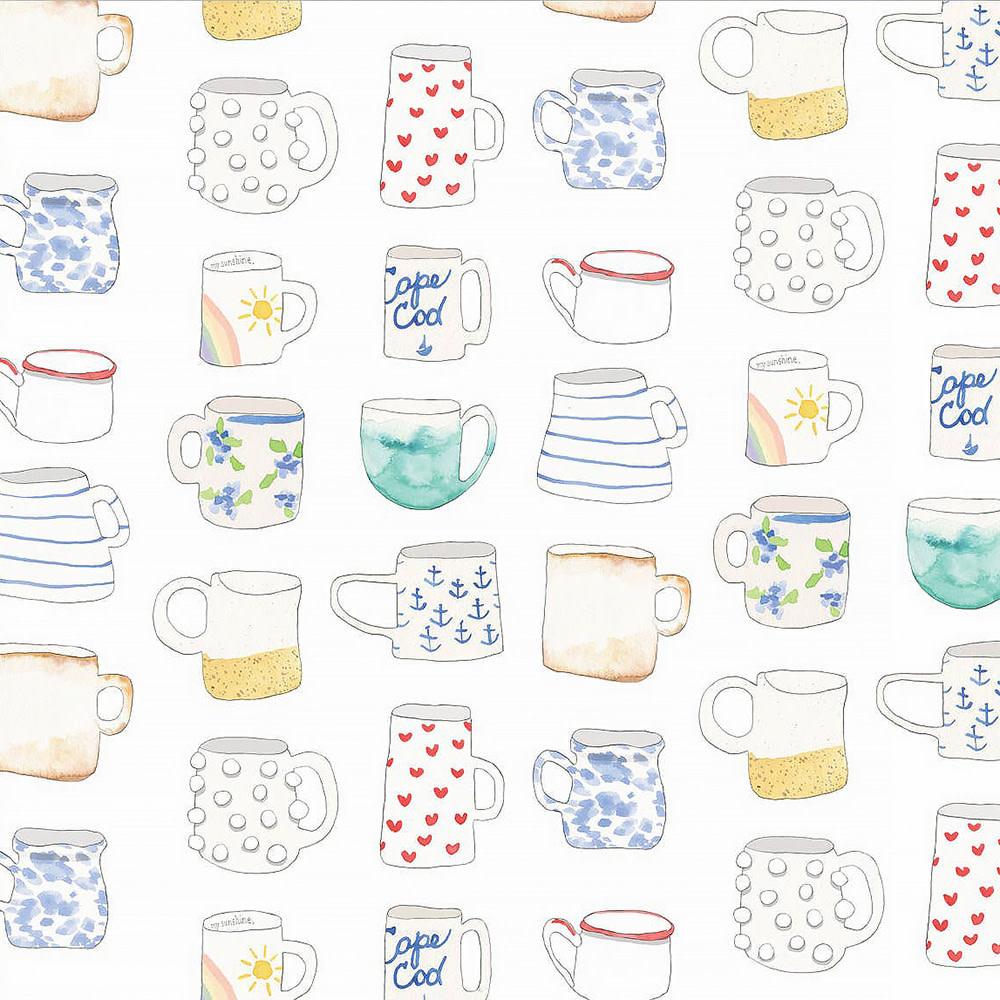 Sara Fitz Wrapping Paper - Favorite Mug
