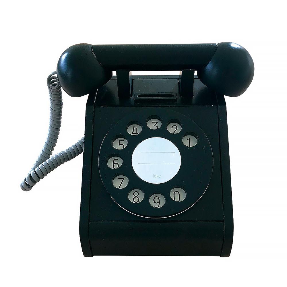 Kiko+ & gg* Kiko+ & gg* Toy Telephone - Black