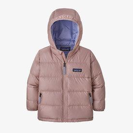 Patagonia Patagonia Baby Hi-Loft Down Sweater Hoody - Fuzzy Mauve