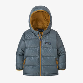 Patagonia Patagonia Baby Hi-Loft Down Sweater Hoody - Plume Grey