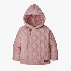 Patagonia Patagonia Baby Quilted Puff Jacket - Fuzzy Mauve