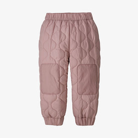 Patagonia Patagonia Baby Quilted Puff Joggers - Fuzzy Mauve