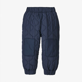 Patagonia Patagonia Baby Quilted Puff Joggers - New Navy
