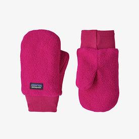 Patagonia Patagonia Baby Pita Pocket Mittens - Mythic Pink