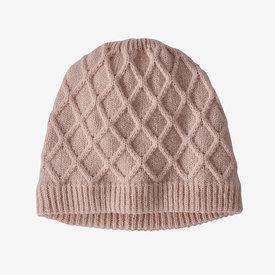 Patagonia Patagonia Womens Honeycomb Knit Beanie - Fuzzy Mauve