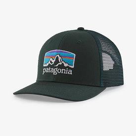 Patagonia Patagonia Trucker Hat - Fitz Roy Horizons - Northern Green
