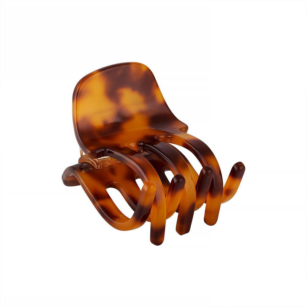 Machete Machete - Mini Claw Hair Clip - Amber