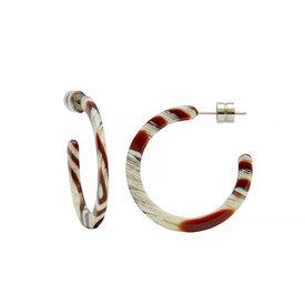 Machete Machete - Mini Hoop Earrings - Canyon Brown