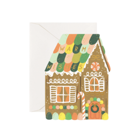 Rifle Paper Co. Rifle Paper Co. Card - Gingerbread House