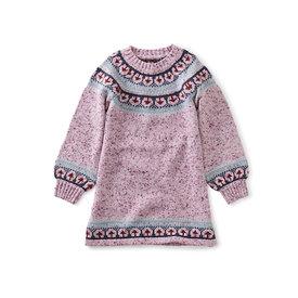 Tea Collection Tea Collection Fairsile Flair Sweater Dress - Mauve