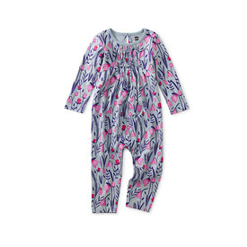 Tea Collection Tea Collection Paneled Baby Romper - Scottish