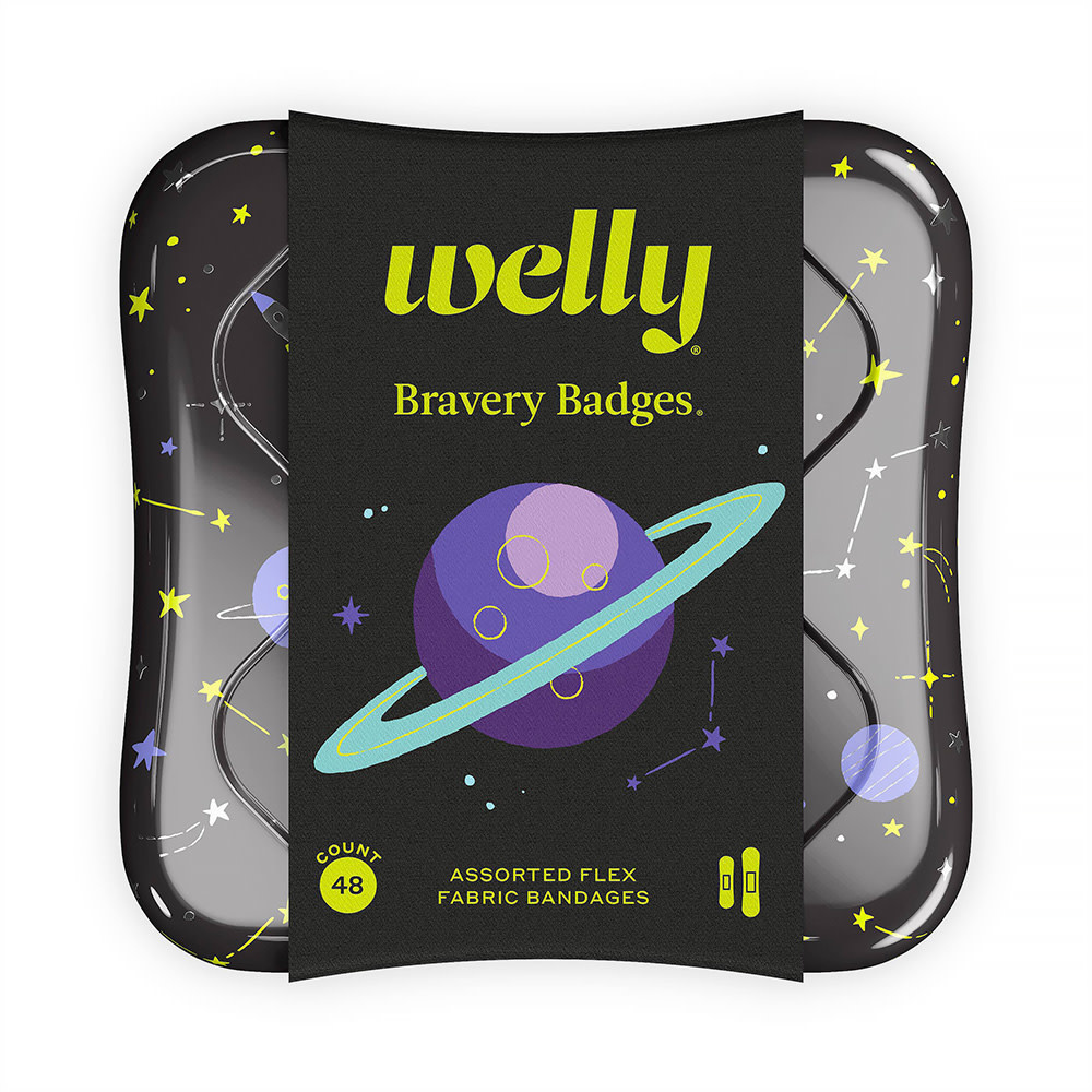 Welly Bravery Badges - Space