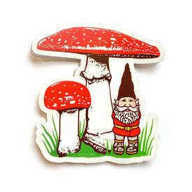 Little Lark Little Lark - Mushroom Gnome Sticker