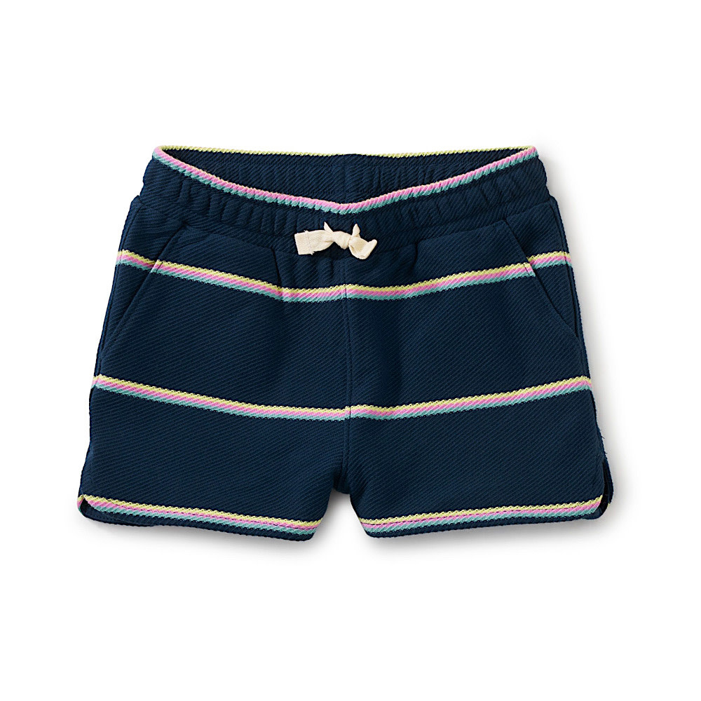 Tea Collection Tea Collection - Tie Waist Shorts - Whale Blue