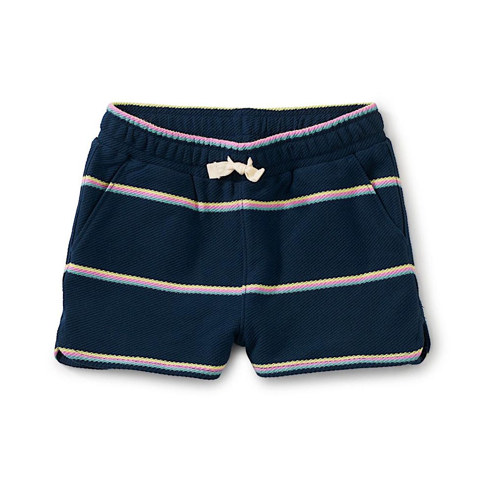 Tea Collection - Tie Waist Shorts - Whale Blue