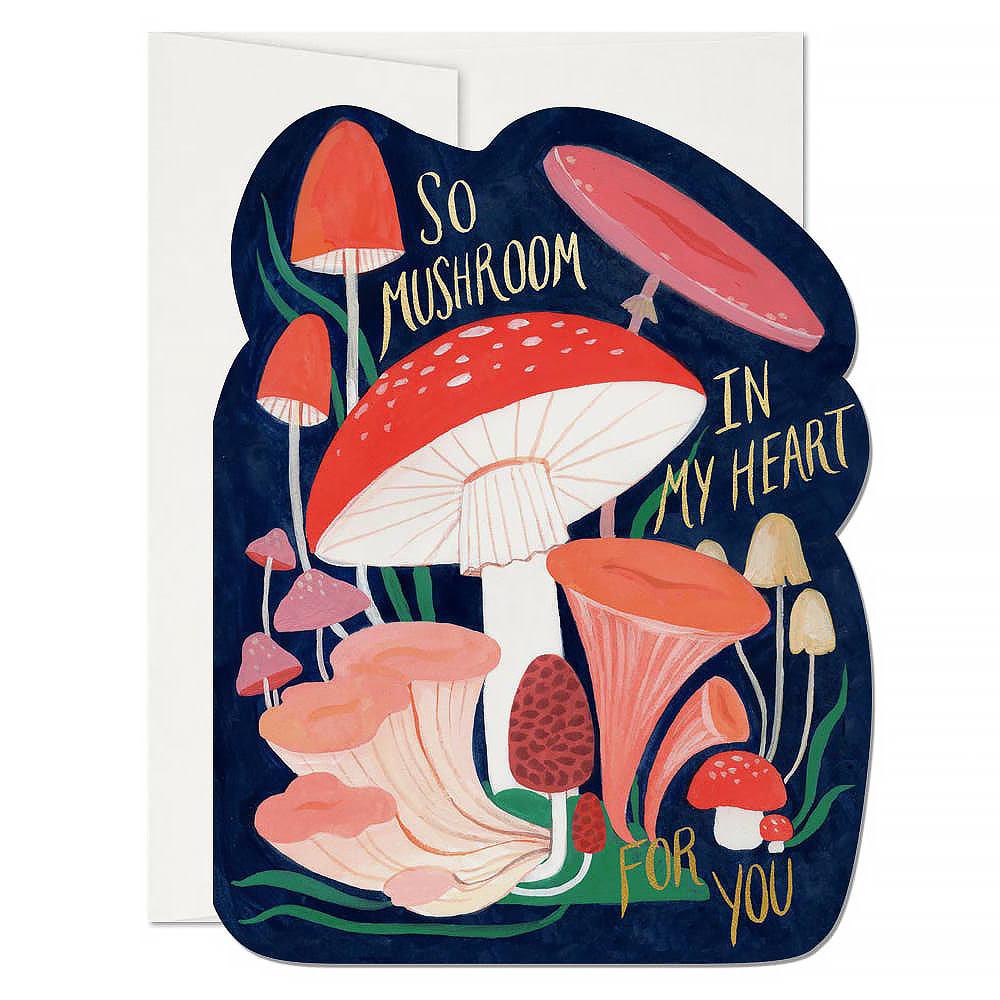 Red Cap Cards Red Cap Cards - So Mushroom