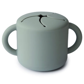 Mushie Mushie Snack Cup - Cambridge Blue