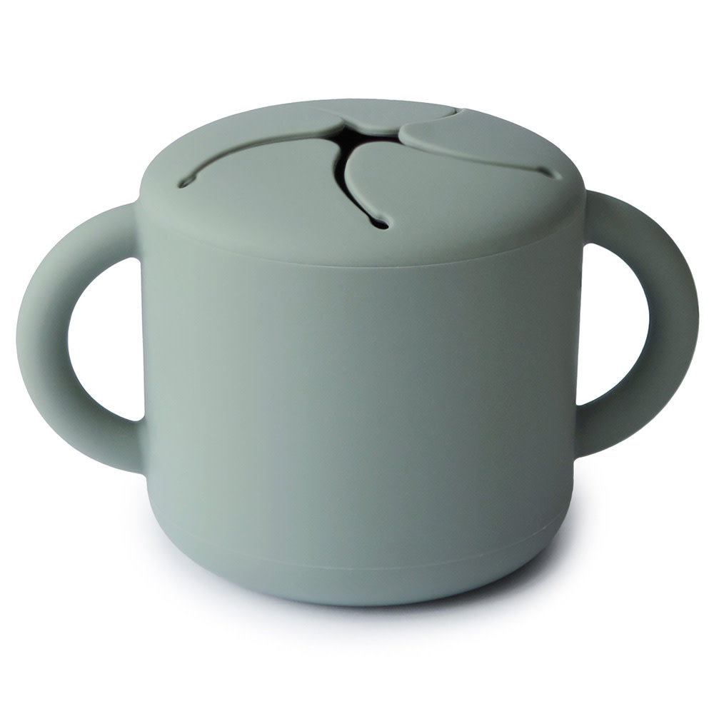Mushie Snack Cup - Cambridge Blue