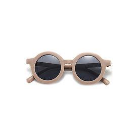 Tenth & Pine Tenth & Pine Round Retro Sunglasses - Coffee Matte