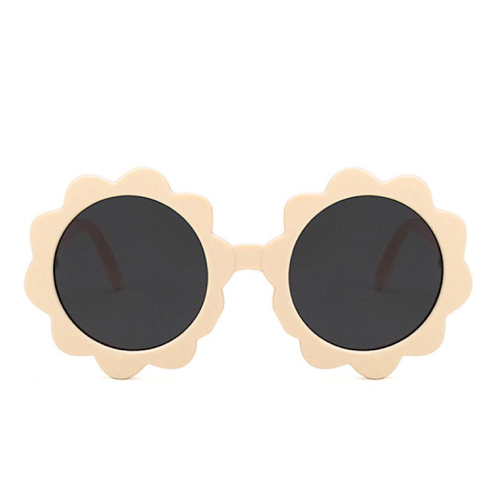 Tenth & Pine Round Sunburst Sunglasses - Sand