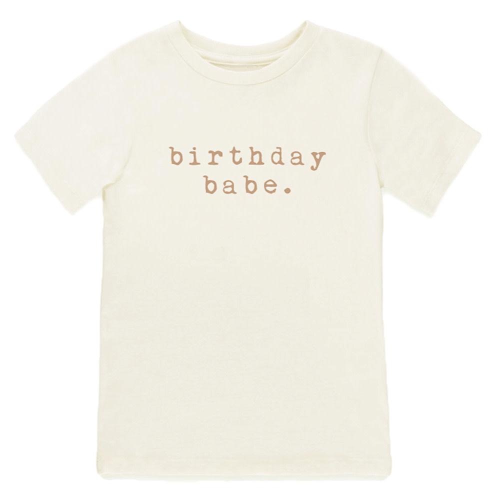 Tenth & Pine Tenth & Pine Short Sleeve Tee - Birthday Babe - Clay