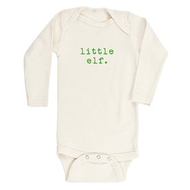 Tenth & Pine Tenth & Pine Long Sleeve Bodysuit - Little Elf - Green