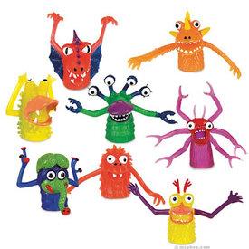 Archie McPhee Finger Puppet - Monster