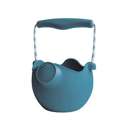 DAM LLC Scrunch Watering Can w/ Rope Handles - Blue
