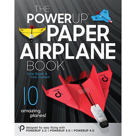 Power Up Toys Power Up Paper Airplane Book