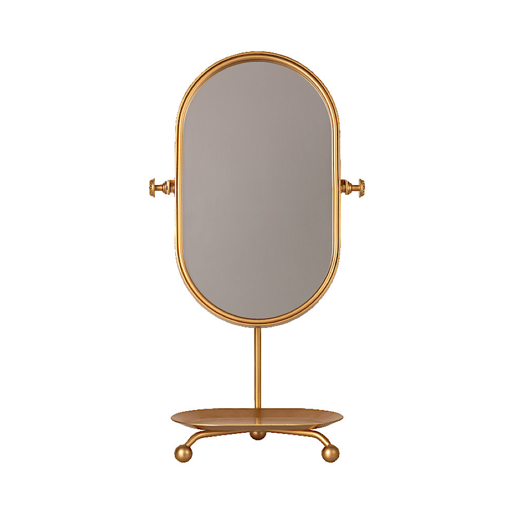 Maileg Maileg Table Mirror - Gold