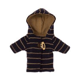 Maileg Maileg Striped Duffle Coat for Teddy Junior