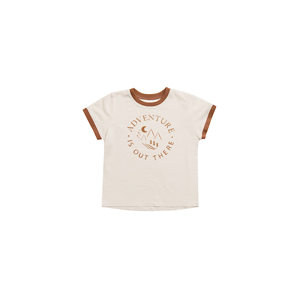 Rylee + Cru Ringer Tee - Adventure Is Out There