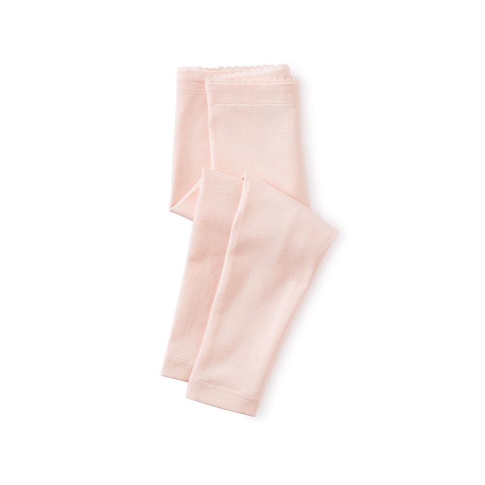 Tea Collection Solid Baby Leggings - Pink Salt