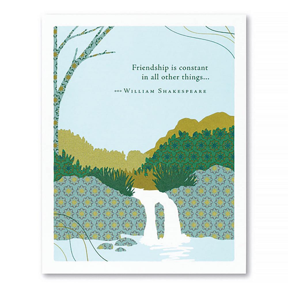 Friendship Card - Friendship Is Constant