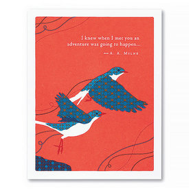 Compendium Friendship Card - I Knew When I Met You