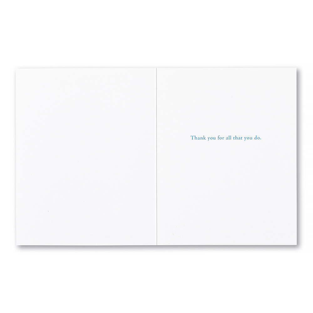 Appreciation Card - What A Difference One Person Can Make
